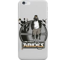 The Force Abides iPhone Case/Skin