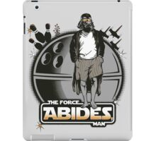 The Force Abides iPad Case/Skin