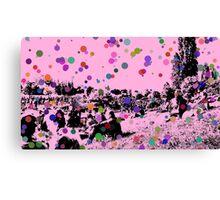 Bubble people Canvas Print
