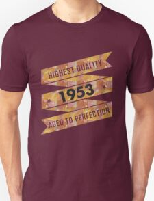 Highest Quality 1953 Aged To Perfection T-Shirt