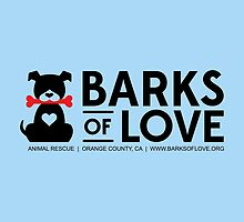 Merchandise - Barks of Love - Main Logo  by Barks of Love Animal Rescue