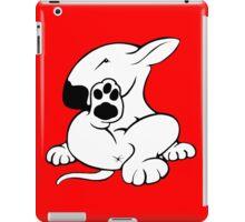 English Bull Terrier Kicking Back  iPad Case/Skin
