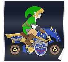 Mario Kart 8 - The Master Cycle Poster