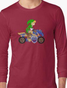 Mario Kart 8 - The Master Cycle Long Sleeve T-Shirt
