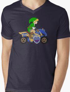 Mario Kart 8 - The Master Cycle Mens V-Neck T-Shirt