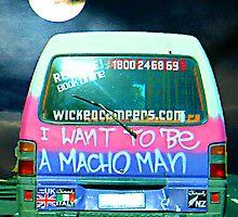 macho man by Marcia Luly