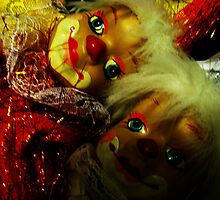 Twin Clowns by Stack