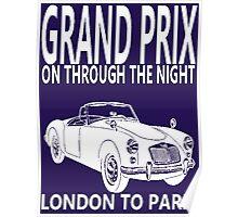 GRAND PRIX-LONDON TO PARIS Poster