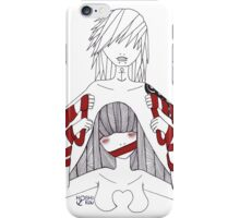 Red Tape #2 iPhone Case/Skin