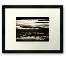 Historic Skies Framed Print