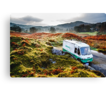 Library Van in the Lake District Canvas Print
