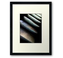 moving on up Framed Print