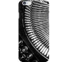 Typewriter. iPhone Case/Skin