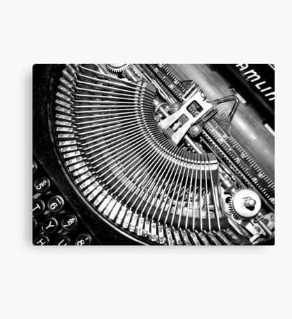 Typewriter. Canvas Print