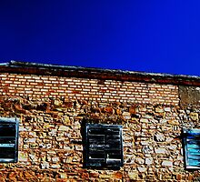 Shutters Of Blue by Larry149