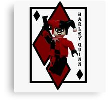 Lego Harley Quinn Canvas Print