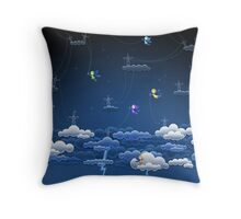 Lightnings Throw Pillow