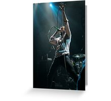 Stand up and raise hell Greeting Card