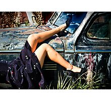 Sunning on the Fender Photographic Print