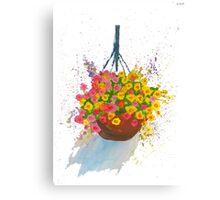 Hanging Basket Canvas Print