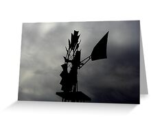 Edge of the Storm Greeting Card