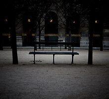Jardin du Palais Royal, Paris. by Stephane-Franck Berthelot