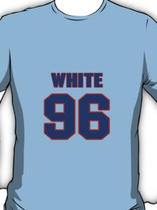 National football player Alberto White jersey 96 T-Shirt