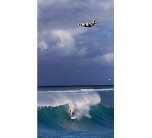 John John Florence at Vans World Cup of Surfing 2011 Photographic Print