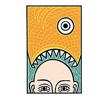Fish Head Photographic Print