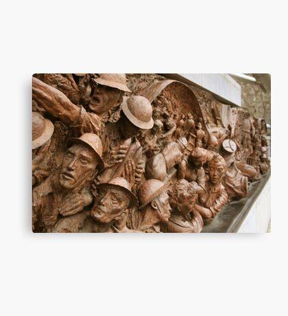 War Memorial - London Canvas Print
