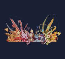 Eevee love by AsunaYuuki