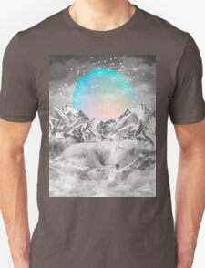 Put Your Thoughts To Sleep (Peaceful Moon / Wolf Spirit) Unisex T-Shirt