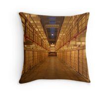 Alcatraz Cells Throw Pillow