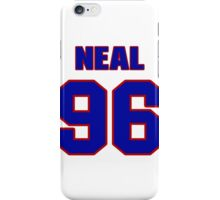 National football player Mike Neal jersey 96 iPhone Case/Skin