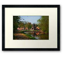 Blists Hill Canal Framed Print