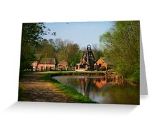 Blists Hill Canal Greeting Card