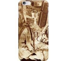 Fantasy Portrait Sepia Study No 32. iPhone Case/Skin