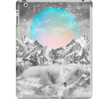 Put Your Thoughts To Sleep (Peaceful Moon / Wolf Spirit) iPad Case/Skin