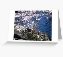 Stars on the Merced River Greeting Card