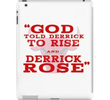 Derrick Rose Chicago Bulls NBA iPad Case/Skin