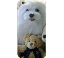 """""""Snowdrop the Maltese - """"Say Cheese Everyone"""" ! iPhone Case/Skin"""