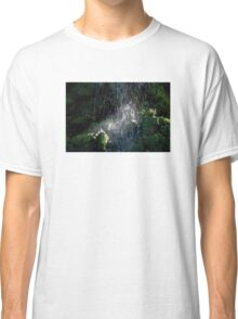 Sparkling WaterFall Classic T-Shirt