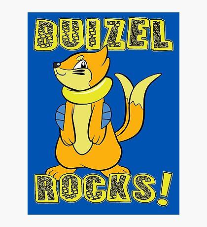 Buizel Rocks! Photographic Print