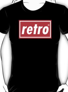 Retro - Red T-Shirt