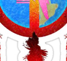 Earth Medicine-Woodpecker Tee Sticker