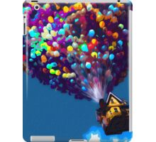 Up Balloon House Print iPad Case/Skin