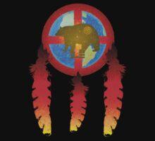 Earth Medicine-Brown Bear Tee by Jan Landers