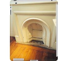 Old Fireplace iPad Case/Skin