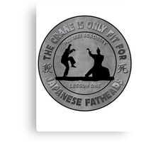 Pai Mei vs Daniel San Canvas Print