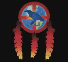 Earth Medicine-Crow Tee by Jan Landers